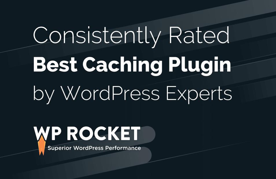 best wordpress cache plugin wp rocket