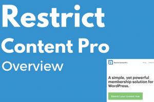 restrict content pro wordpress membership plugin