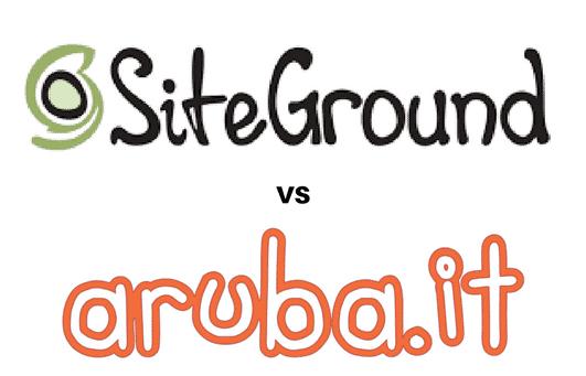 Aruba vs Siteground.