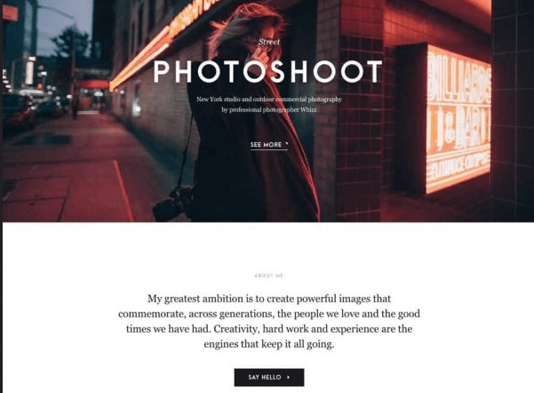 Best WordPress Photography Themes and Templates
